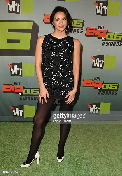 Katharine McPhee during VH1 Big in '06 Arrivals at Sony Studios in Culver City California United States