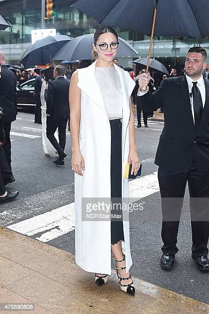 Katharine McPhee is seen at The 2015 CFDA Fashion Awards on June 1 2015 in New York City