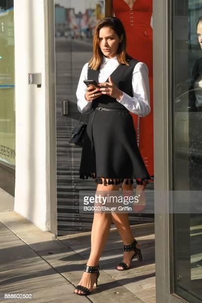Katharine McPhee is seen on December 08 2017 in Los Angeles California