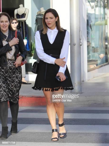 Katharine McPhee is seen on December 8 2017 in Los Angeles CA