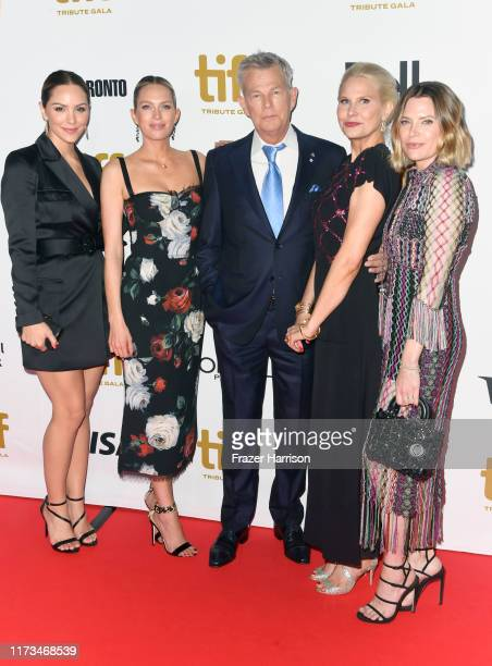 Katharine McPhee Jordan Foster David Foster Amy Foster and Erin Foster attend the 2019 Toronto International Film Festival TIFF Tribute Gala at The...
