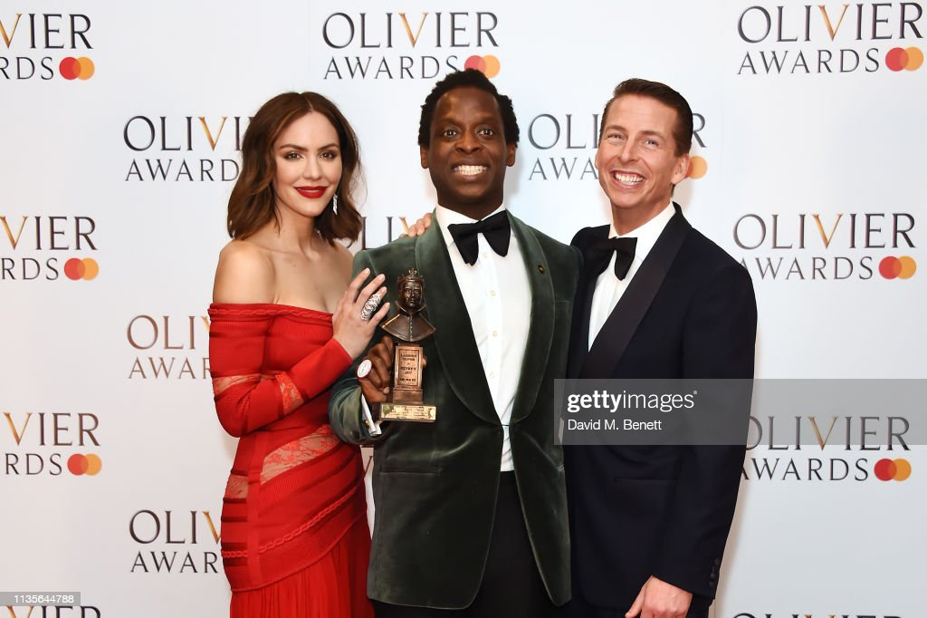 The Olivier Awards 2019 with Mastercard - Press Room : Nyhetsfoto