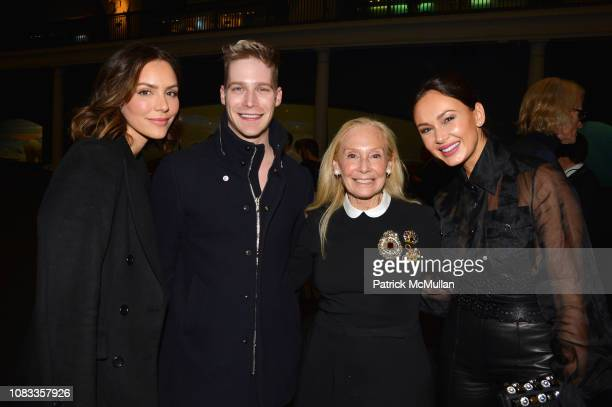 Katharine McPhee Micah McLaurin Karen LeFrak and Aida Garifullina attend Publication Party For Karen LeFrak's New Book Sleepover At The Museum at...