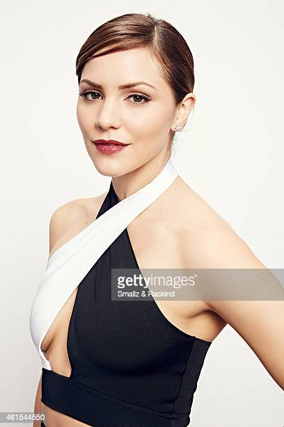 Katharine McPhee poses during the The 41st Annual People's Choice Awards at Nokia Theatre LA Live on January 7 2015 in Los Angeles California