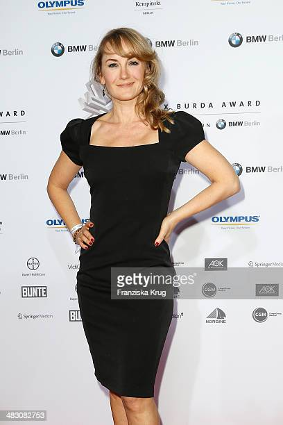 Katharine Mehrling attends the Felix Burda Award 2014 at Hotel Adlon on April 06 2014 in Berlin Germany