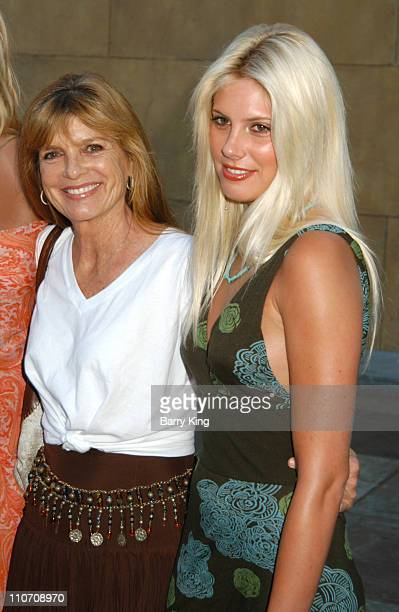 """Katharine Ross and daughter Cleo during American Cinematheque Presents The Los Angeles Premiere Of """"Donnie Darko: The Director's Cut"""" Sponsored By..."""