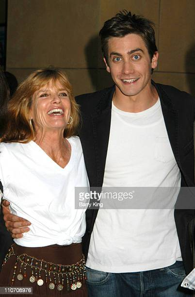"""Katharine Ross and Jake Gyllenhaal during American Cinematheque Presents The Los Angeles Premiere Of """"Donnie Darko: The Director's Cut"""" Sponsored By..."""