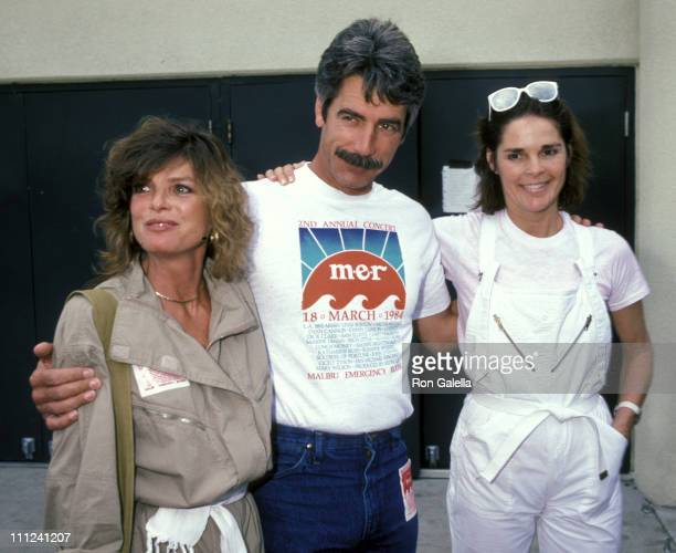 Katharine Ross Sam Elliott and Ali MacGraw during 2nd Annual Benefit Concert for Malibu Emergency Room at Firestone Fieldhouse at Pepperdine...