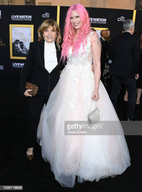 "Katharine Ross;Cleo Rose Elliott arrives at the Premiere Of Warner Bros. Pictures' ""A Star Is Born"" at The Shrine Auditorium on September 24, 2018 in..."