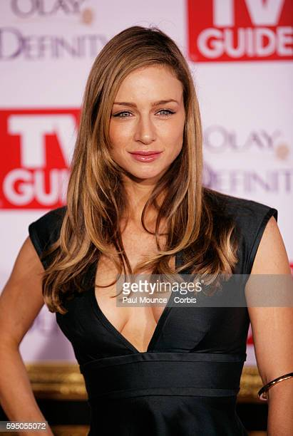 Katharine Towne arrives at the 5th annual TV Guide Emmy® Party held at Les Deux