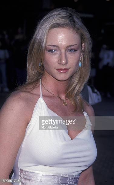 Katharine Towne attends the premiere of 'Legally Blonde' on June 26 2001 at Mann Village Theater in Westwood California