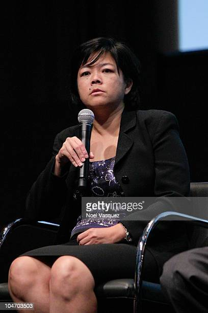 """Kathay Feng attend the UCLA Film and Television Archive screening of """"Gerrymandering"""" on October 3, 2010 in Los Angeles, California."""