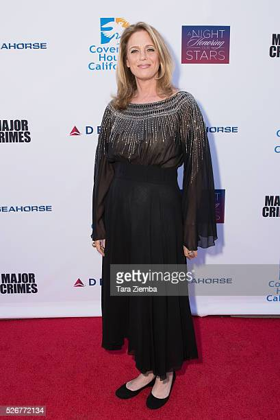 Kathe Mazur attends Covenant House Of California's Annual Fundraising Gala at The Globe Theatre at Universal Studios on April 30 2016 in Universal...
