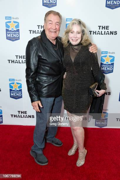 Katherin Kovin Pacino and William Lash Brook attend The Thalians Holiday Party with Kira Reed Lorsch as Chair at Bel Air Country Club on December 1...