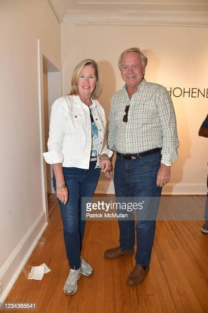 """Katherine Andreassen and Gary Andreassen attend the release of Christophe von Hohenberg's new book """"The White Album of The Hamptons"""" and Bruce..."""