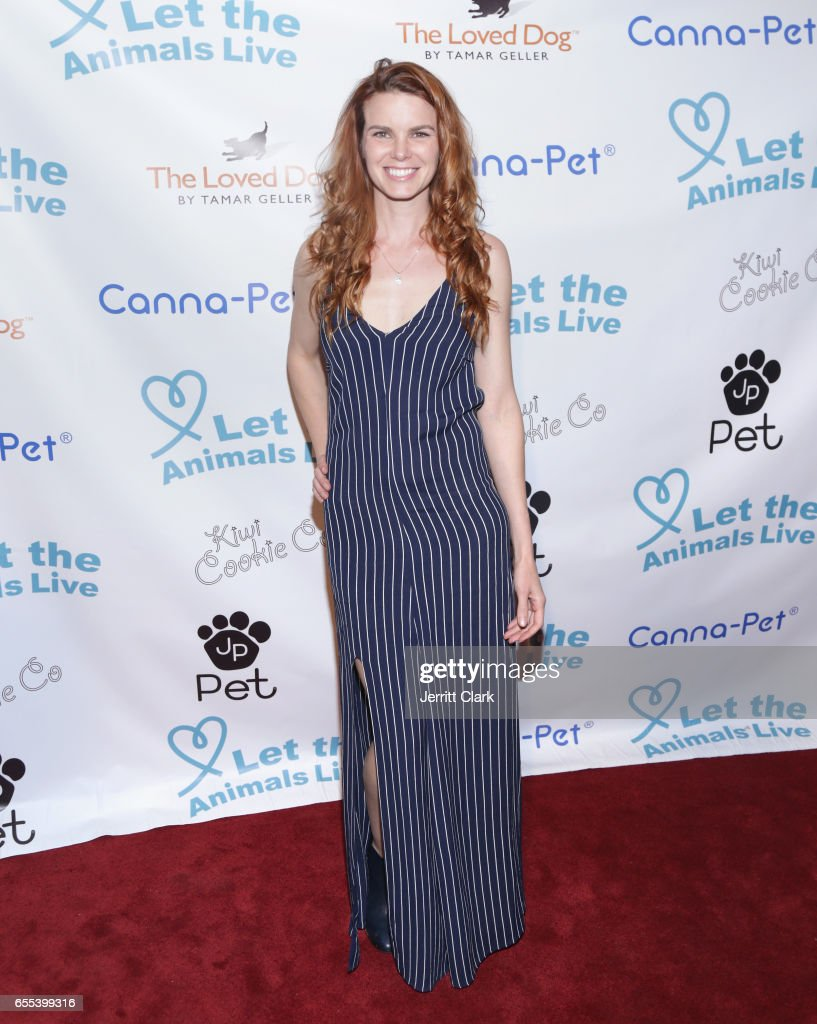 Katherine Annette attends the Let The Animals Live Gala at The Olympic Collection Banquet & Conference Center on March 19, 2017 in Los Angeles, California.