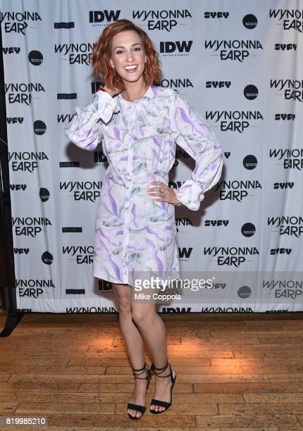 """Katherine Barrell at the """"Wynonna Earp"""" Media Mixer with cast and Fan Appreciation Party during Comic-Con International 2017 on July 20, 2017 in San..."""