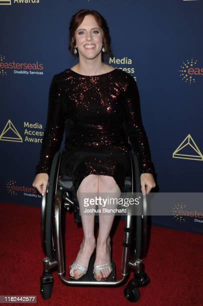 Katherine Beattie attends the 40th Annual Media Access Awards In Partnership With Easterseals at The Beverly Hilton Hotel on November 14 2019 in...