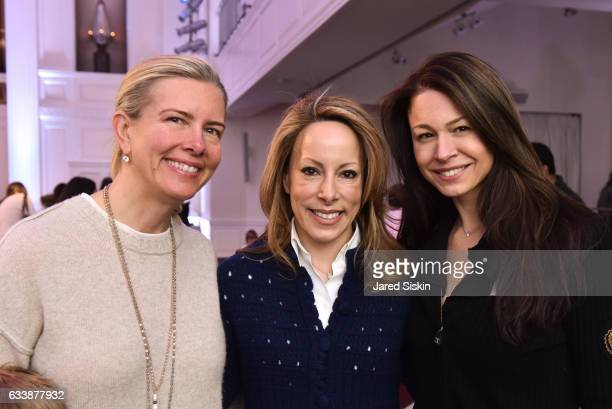 Katherine Birch Kamie Lightburn and Paige Boller attend The Hort's 5th Annual Green Bean Bash at 583 Park Avenue on February 4 2017 in New York City