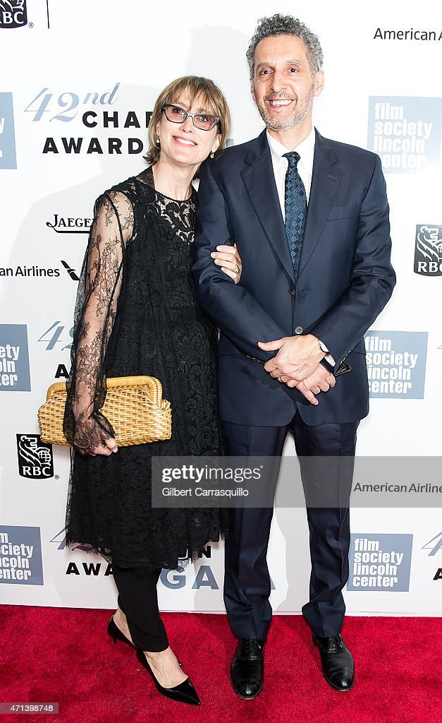 Katherine Borowitz and actor John Turturro attend the 42nd Chaplin Award Gala at Alice Tully Hall, Lincoln Center on April 27, 2015 in New York City.