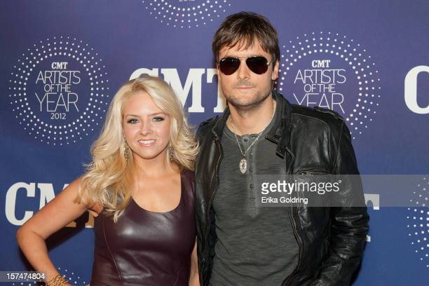 Katherine Church and Eric Church attend the 2012 CMT 'Artists Of The Year' Awards at The Factory At Franklin on December 3 2012 in Franklin Tennessee