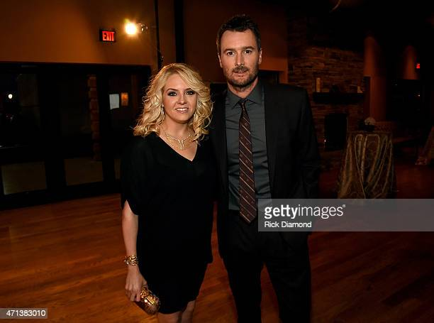 Katherine Church and singersongwriter Eric Church attend the 16th Annual Nashville Best Cellars Dinner hosted by the TJ Martell Foundation at City...