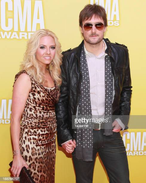 Katherine Church Church and Eric Church attend the 46th annual CMA Awards at the Bridgestone Arena on November 1, 2012 in Nashville, Tennessee.