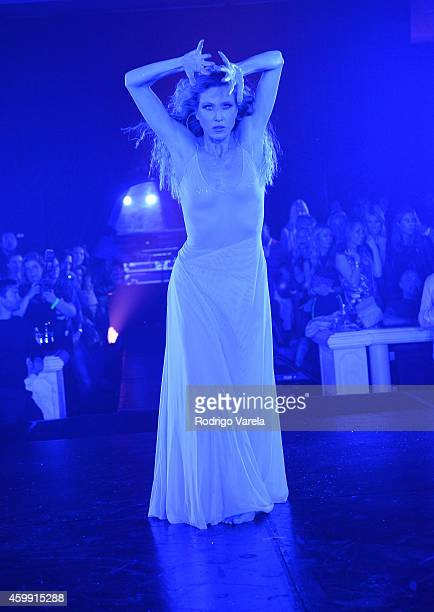 Katherine Crockett performs onstage at 2nd Annual Women In Art Benefit on December 3 2014 in Miami Beach Florida