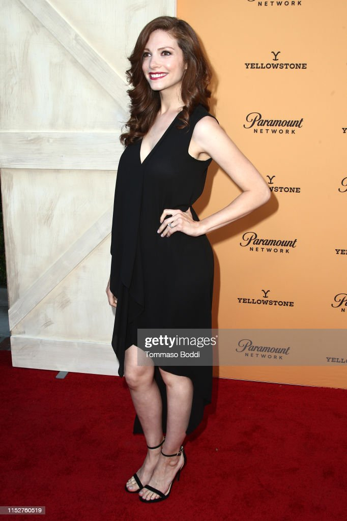 Katherine Cunningham attends the Premiere Party For