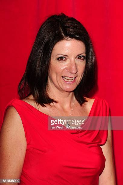 Katherine Dow Blyton arriving for the 2014 British Soap Awards at The Hackney Empire 291 Mare St London