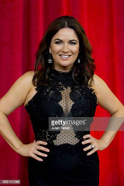 Katherine Dow Blyton attends the British Soap Awards 2016 at Hackney Empire on May 28 2016 in London England