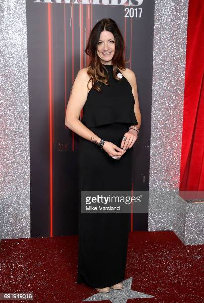 Katherine Dow Blyton attends The British Soap Awards at The Lowry Theatre on June 3 2017 in Manchester England The British Soap Awards will be aired...