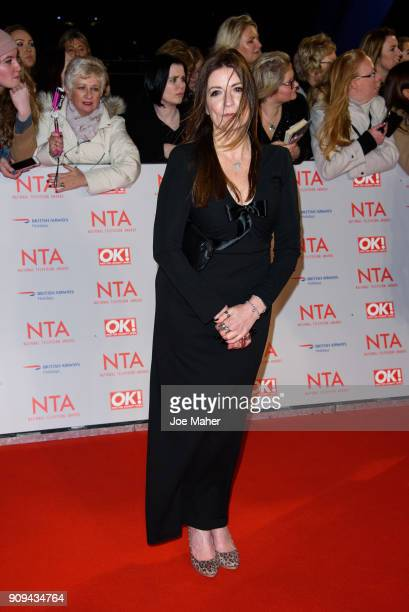 Katherine Dow Blyton attends the National Television Awards 2018 at The O2 Arena on January 23 2018 in London England