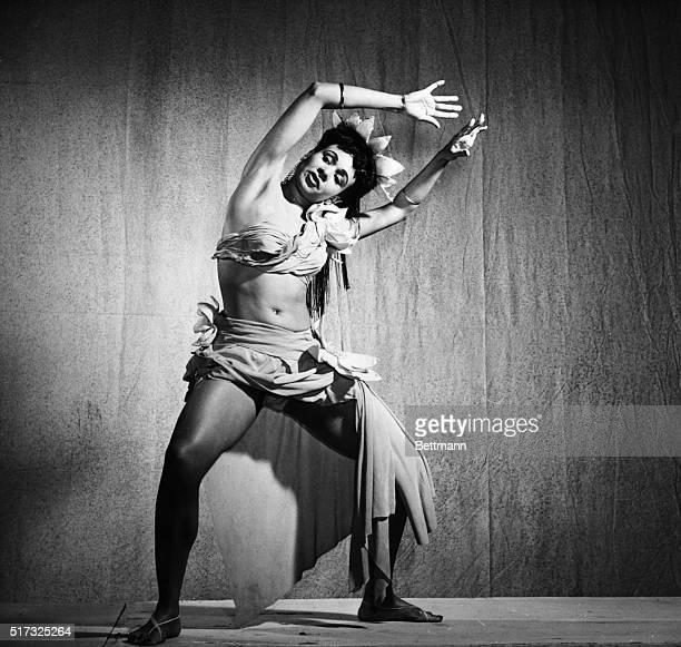 Katherine Dunham American dancer Photograph ca1950