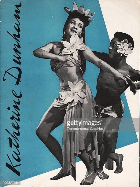 NEW YORK Katherine Dunham and her dance company work out of New York and issued this cover for the 1950 program