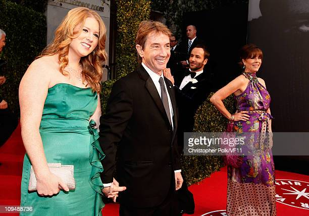 Katherine Elizabeth Short and Martin Short attend the 2011 Vanity Fair Oscar Party Hosted by Graydon Carter at the Sunset Tower Hotel on February 27...