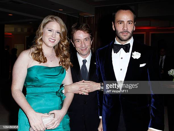 Katherine Elizabeth Short Martin Short and designer Tom Ford attend the 2011 Vanity Fair Oscar Party Hosted by Graydon Carter at the Sunset Tower...
