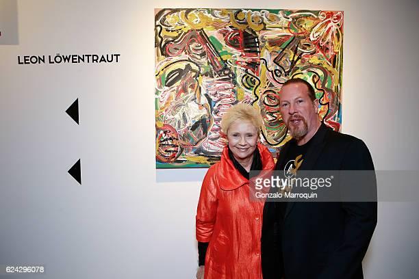 Katherine Fell and Gregory de la Haba at Bodega de la Haba Presents in Association with Edelman Arts German Artist Leon Lowentraut at Avant Garde LES...