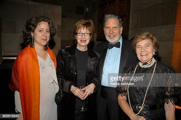 Katherine Fleming Judith Miller Dr John Sexton and Mariuccia ZerilliMarimo attend The FrenchAmerican Aid for Children's 65th Annual Debutante Ball at...