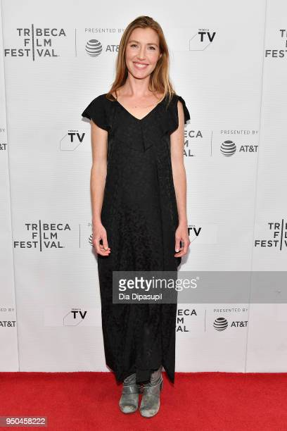 Katherine Flynn attends the screeing of Oversharing at Tribeca TV Indie Pilots during the 2018 Tribeca Film Festival at Cinepolis Chelsea on April 23...