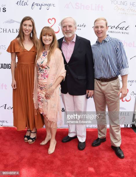 Katherine Flynn Jane Seymour James Keach and Kristopher Keach attend The Open Hearts Foundation's 2018 Young Hearts Spring Event honoring Alliance of...