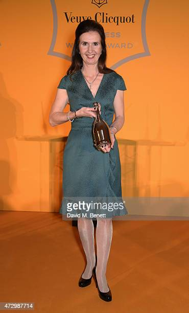 Katherine GarrettCox CEO of Alliance Trust and winner of the Veuve Clicquot Business Woman Award accepts her award at the 43rd Veuve Clicquot...