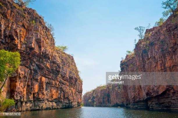 katherine gorge, northern territory, australia - territorio del norte fotografías e imágenes de stock