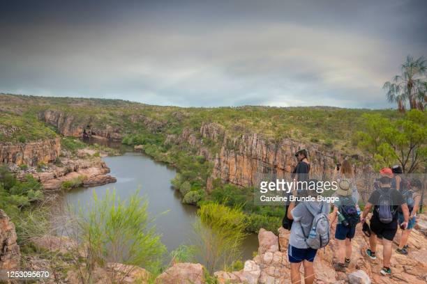 katherine gorge, northern territory, australia - escarpment stock pictures, royalty-free photos & images