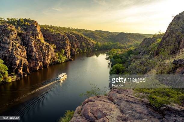 katherine gorge - northern territory australia stock photos and pictures