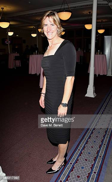 Katherine Grainger arrives at The Inspiration Awards For Women 2012 at Cadogan Hall on October 3 2012 in London England