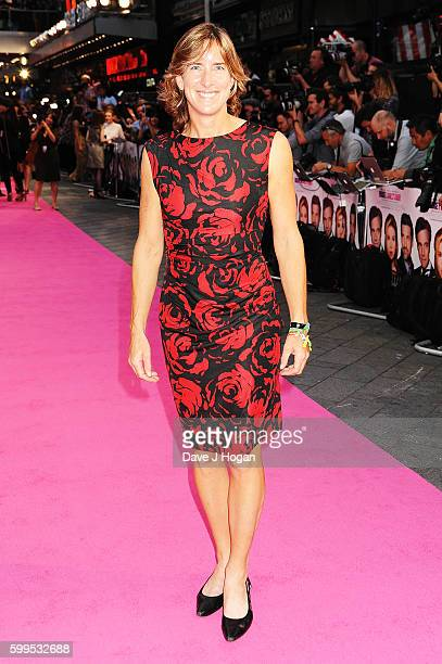 Katherine Grainger arrives for the world premiere of 'Bridget Jones's Baby' at Odeon Leicester Square on September 5 2016 in London England