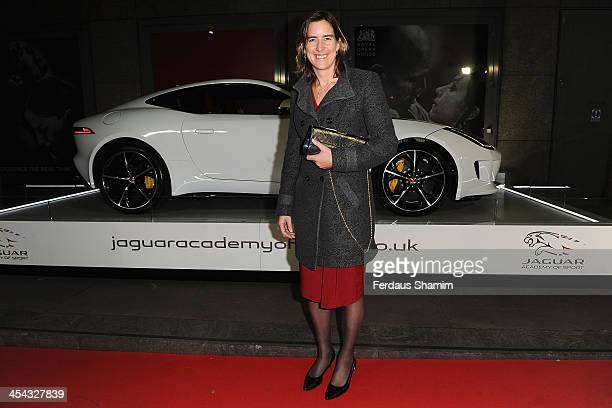 Katherine Grainger attends the Jaguar Academy of Sport annual awards at The Royal Opera House on December 8 2013 in London England