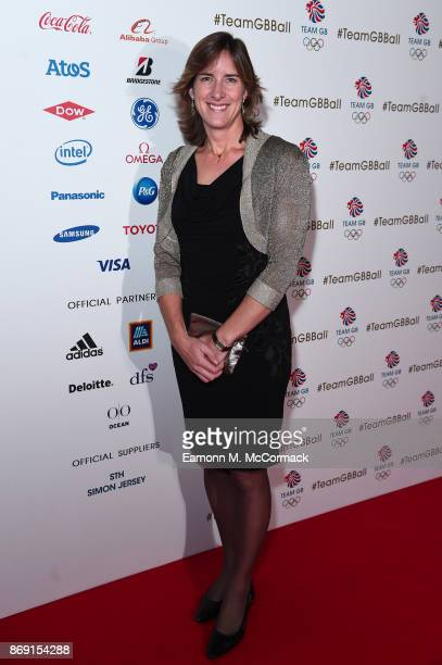 Katherine Grainger attends the Team GB Ball at Victoria and Albert Museum on November 1 2017 in London England