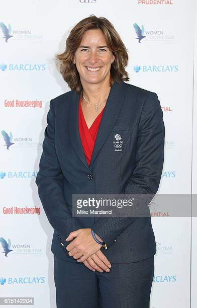 Katherine Grainger attends the Women of the Year Awards 2016 at InterContinental Park Lane Hotel on October 17 2016 in London England